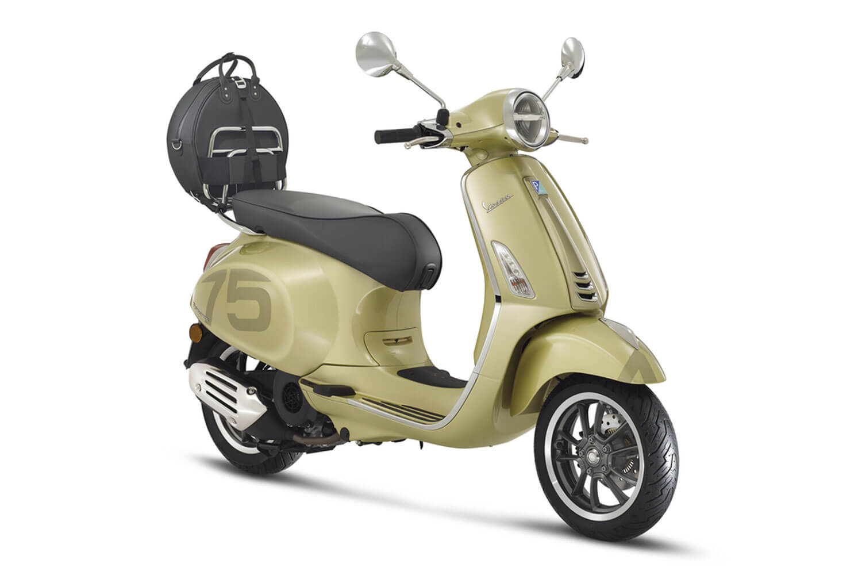 Vespa Primavera 50 75 Jahre Sonder-Modell