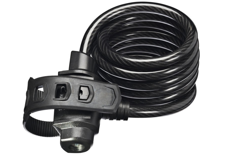 Trelock Spiralkabelschloss SK 415 / 180 cm Code