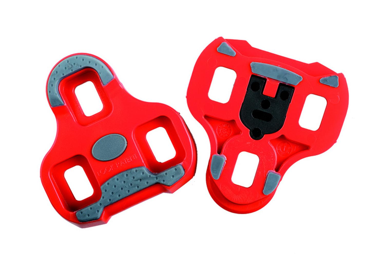 Look Kéo Grip Pedalplatten rot