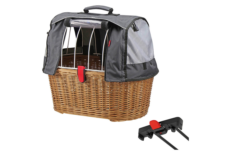 KLICKfix Racktime Basket Doggy inklusive Wetterschutz