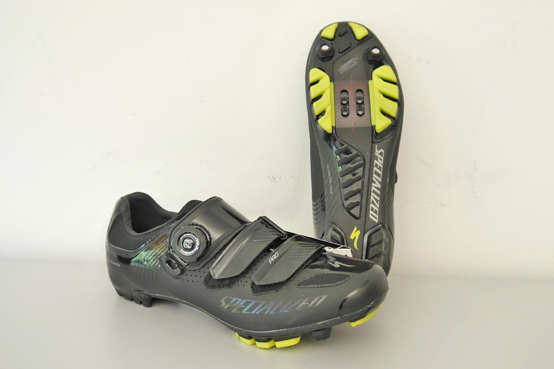 Specialized 4 SPECIALIZED PRO XC MTB-Schuhe black/hyper green Gr. 41