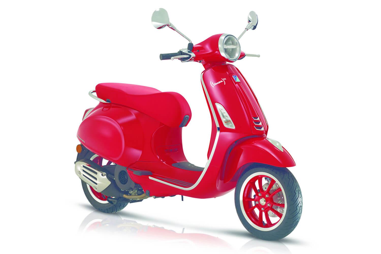 Vespa Primavera 125 RED (Euro 5)