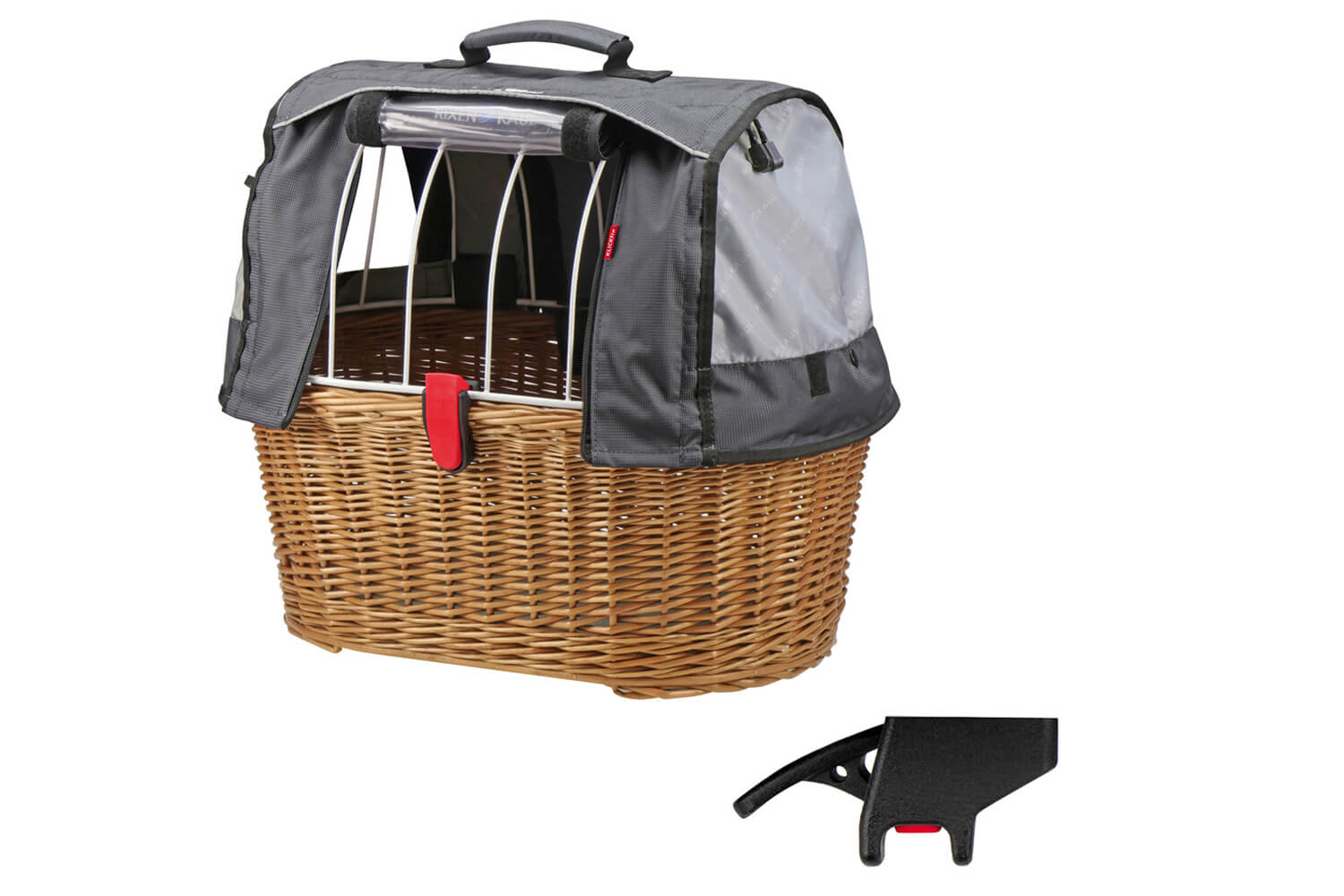 KLICKfix Doggy Basket Plus mit KobKlip