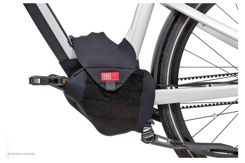 Fahrer Motorschutz für E-Bike Mittelmotor